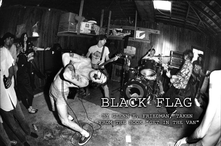 Leçons de vie punks - Black Flag chez Mike Muir - crédits Glen E Friedman