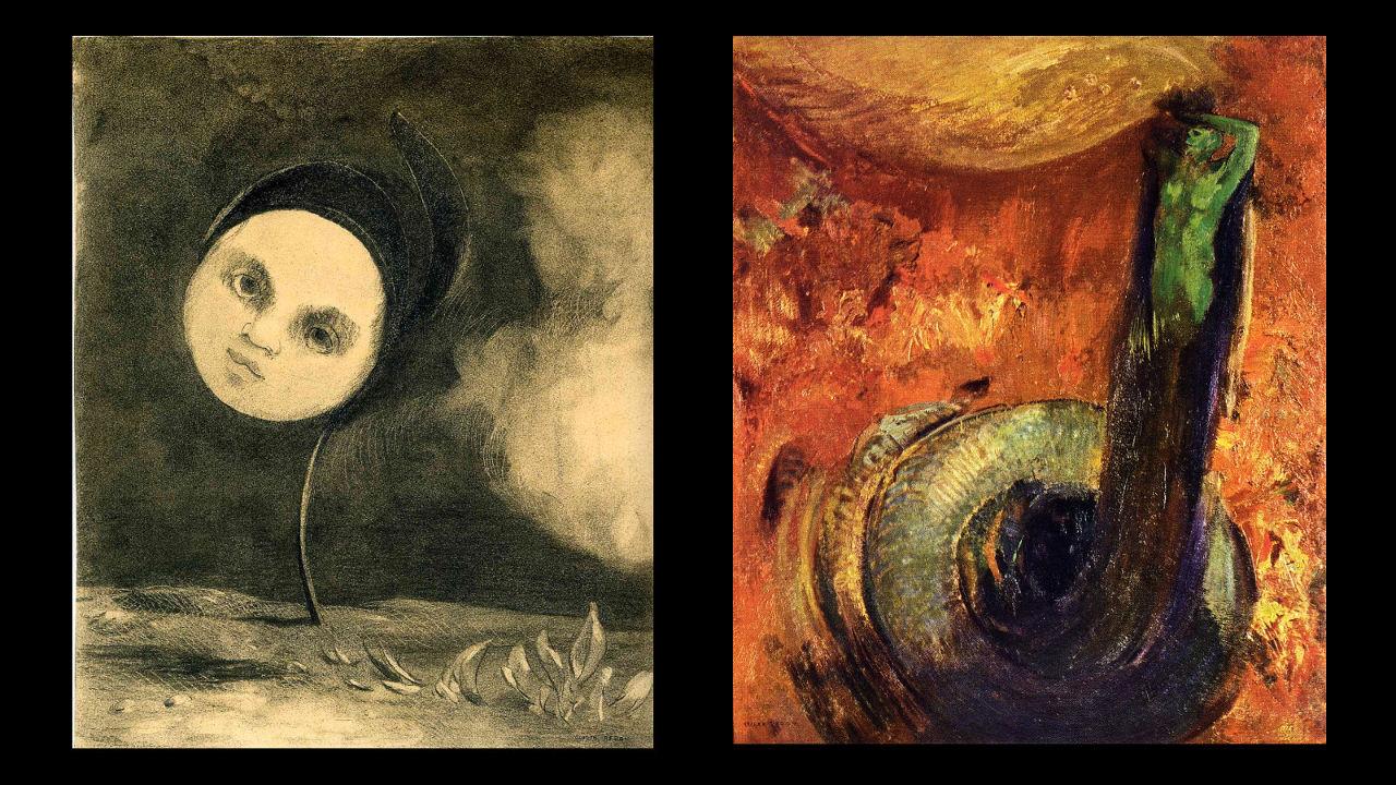 Alt236 interview les deux visages d'Odilon Redon